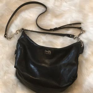 Nice shoulder bag with long strap